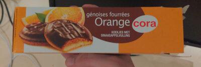 Génoises fourrées Orange - Product - fr