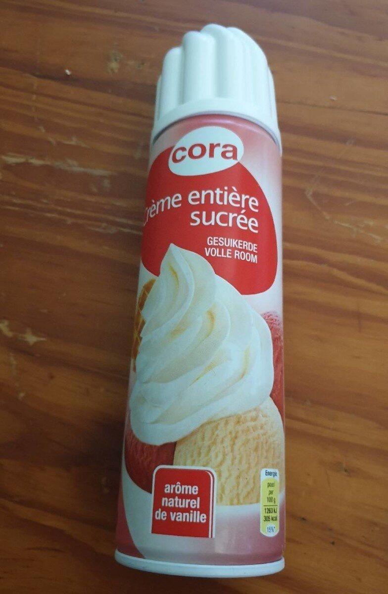 Crème entière sucrée - Product - fr