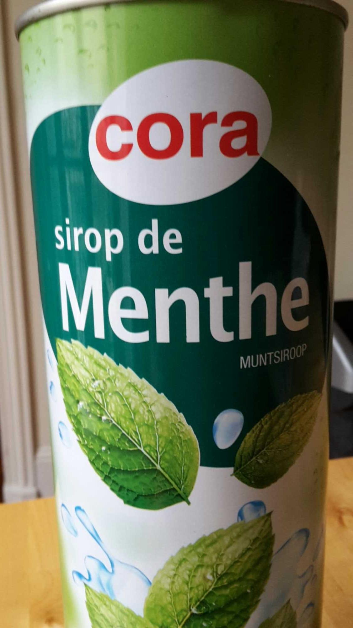 Sirop de menthe - Produit