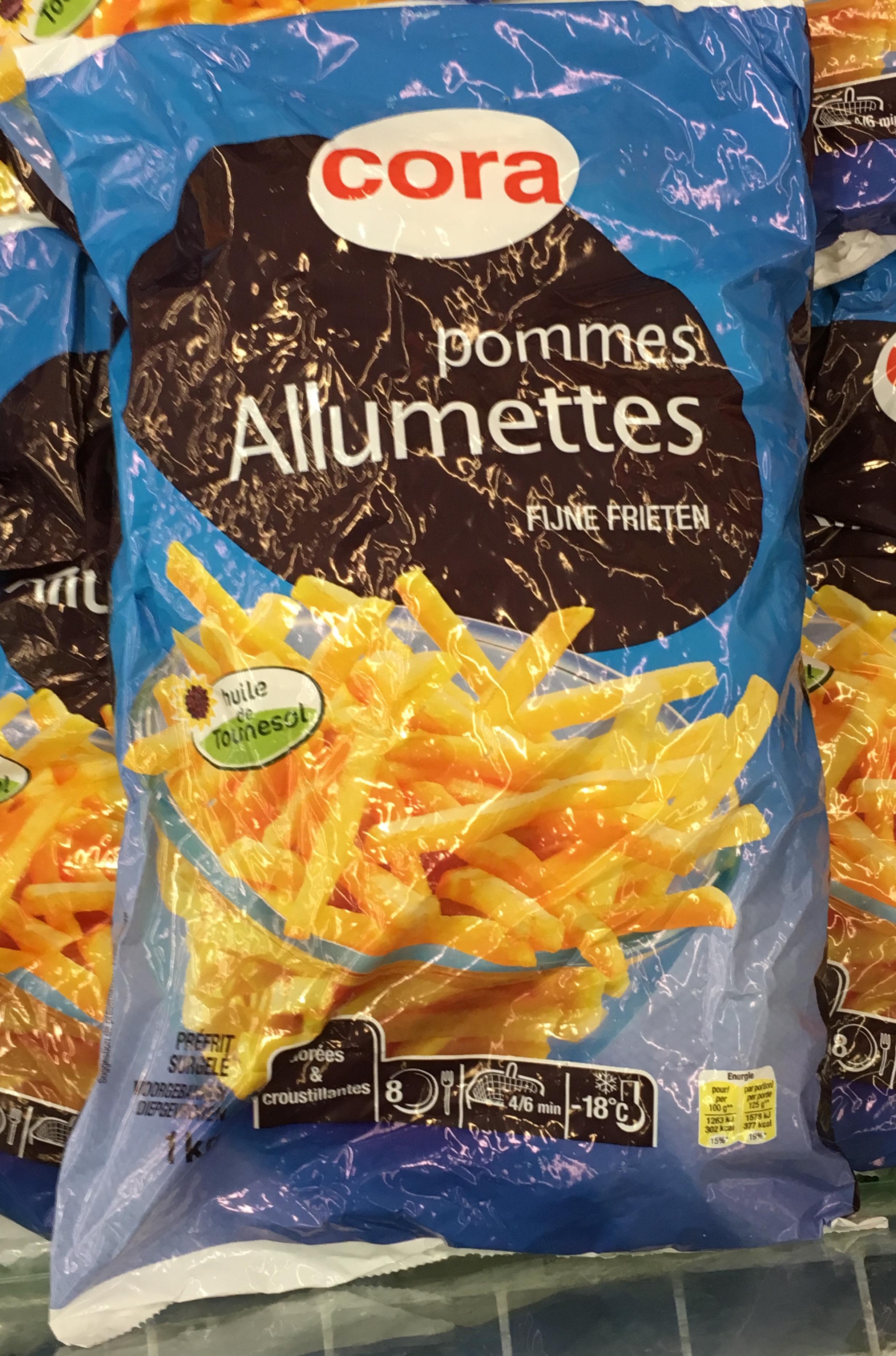 Pommes frites Allumettes - Produit - fr
