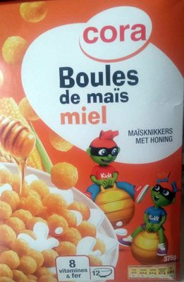 Boules de Maïs Miel - Produit - fr