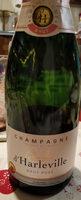 Champagne brut rosé - Produit - fr