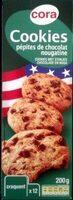 Cookies pepites de chocolat nougatine - Produit - fr