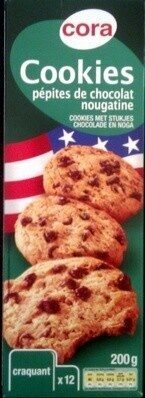 Cookies pepites de chocolat nougatine - Produit