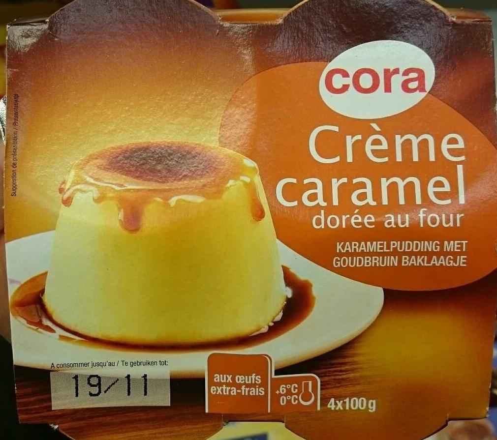 Crème caramel dorée au four - Product