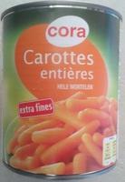 Carottes entières - Produit - fr