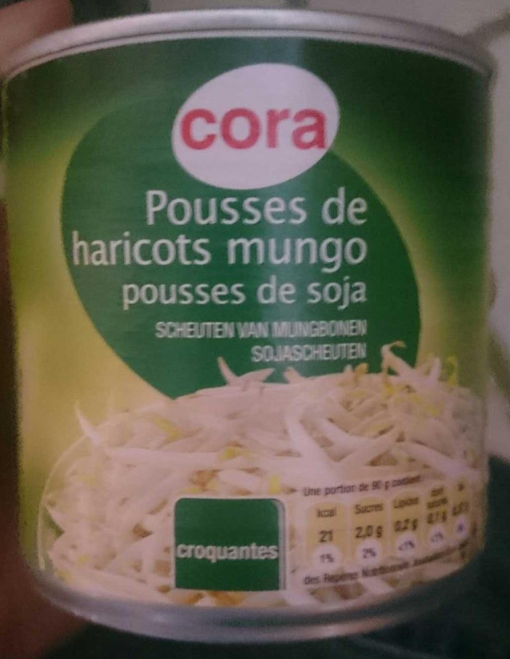 Pousses de haricots mungo pousses de soja cora 180 g - Cuisiner des pousses de soja ...