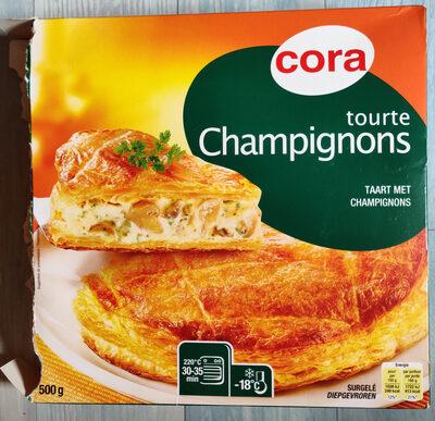 Tourte Aux Champignons, 500 Grammes, Marque Cora - Produit - fr
