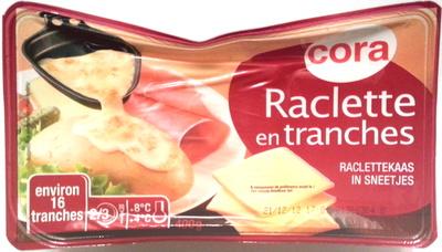 Raclette (28 % MG) en tranches - Produit - fr