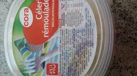 Céleri Rémoulade, 300 Grammes, Marque Cora - Product