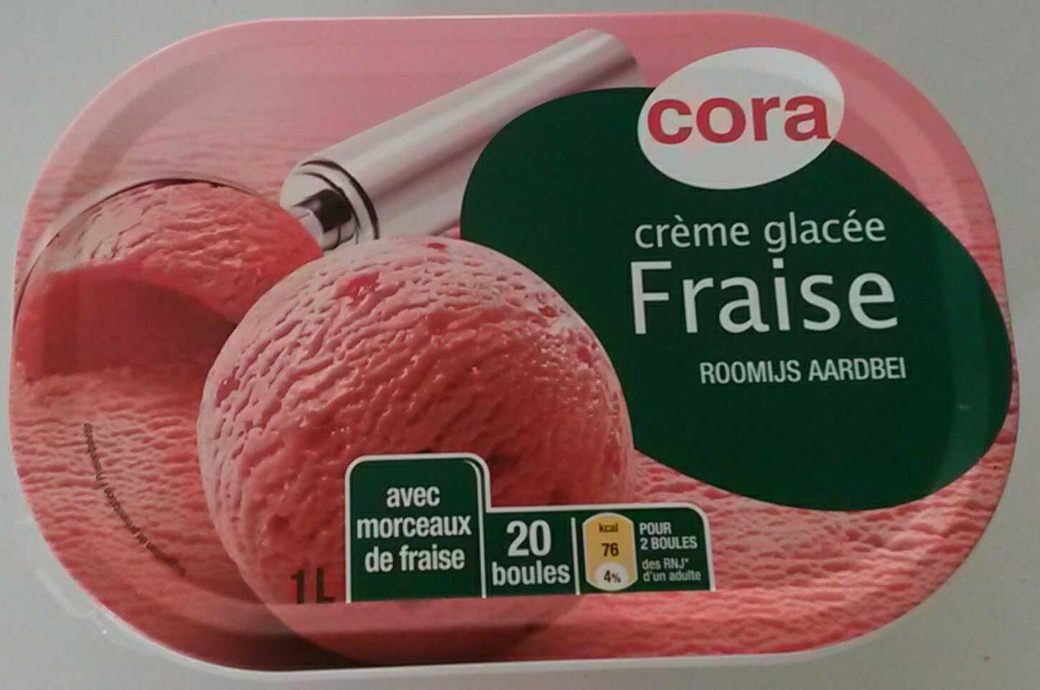 Crème glacée Fraise - Produit
