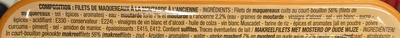 Filets de Maquereaux (à la moutarde à l'ancienne) - Ingrédients - fr