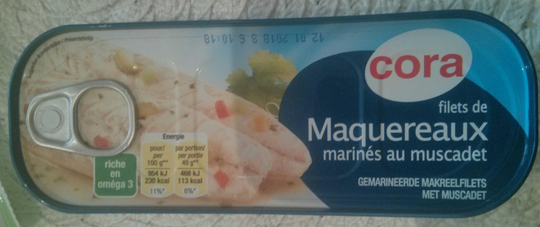 Filets de maquereaux marines au muscadet - Produit - fr