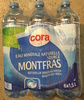 Eau minérale naturelle source Montfras - Product