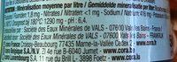 St-Pierre pétillante - Nutrition facts - fr
