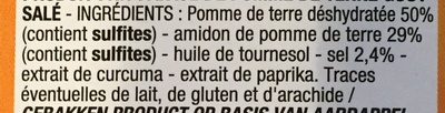 Soufflés salés - Ingrédients - fr