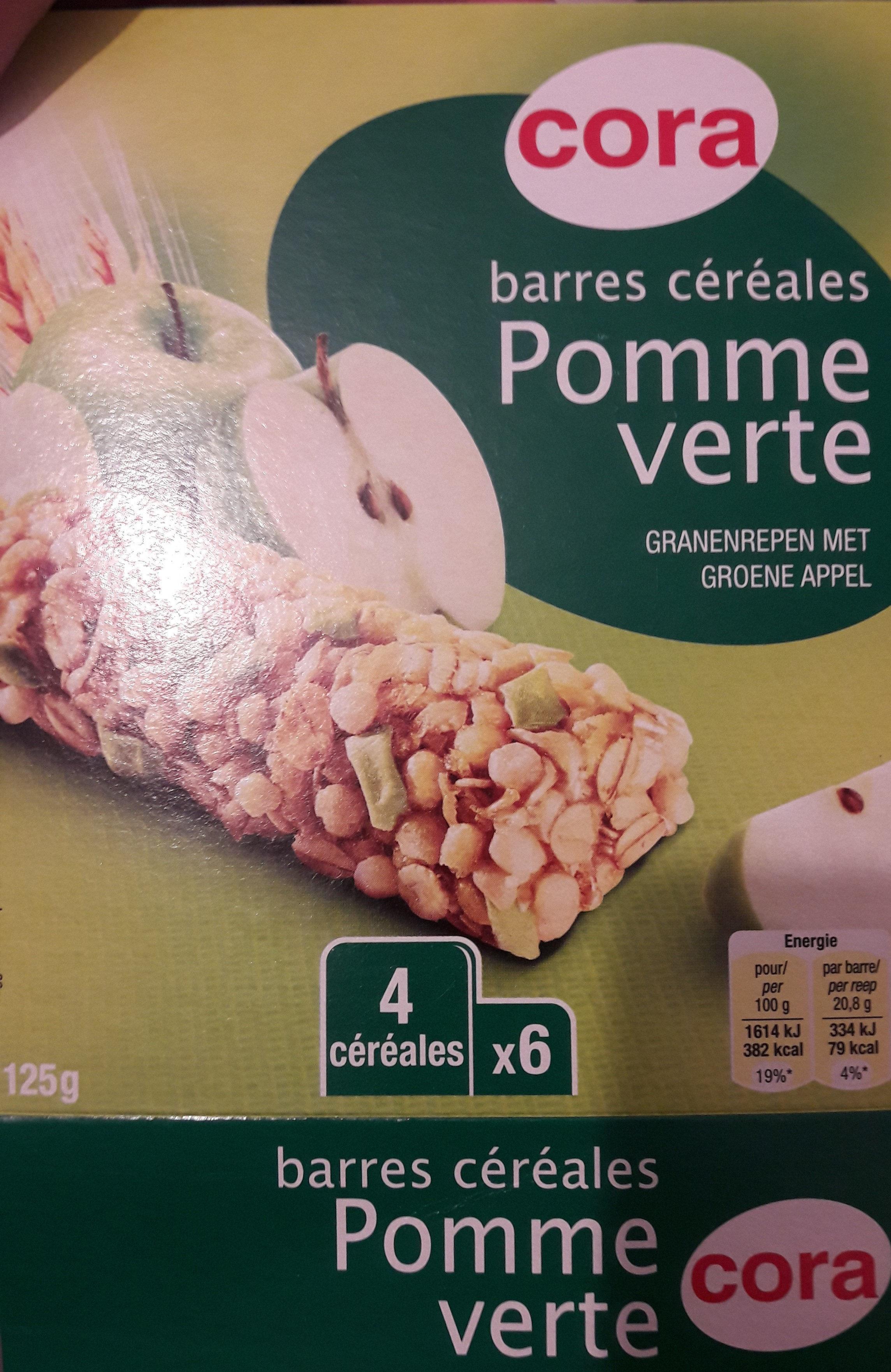 6 Barres Céréales Pomme Verte - Produit