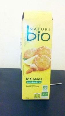 Nature Bio Sablés Amandes Citron - Product - fr