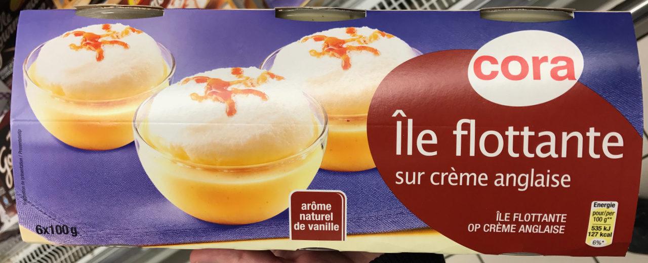 Île flottante sur crème anglaise - Product