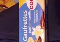 Gaufrette Parfum vanille - Product - fr