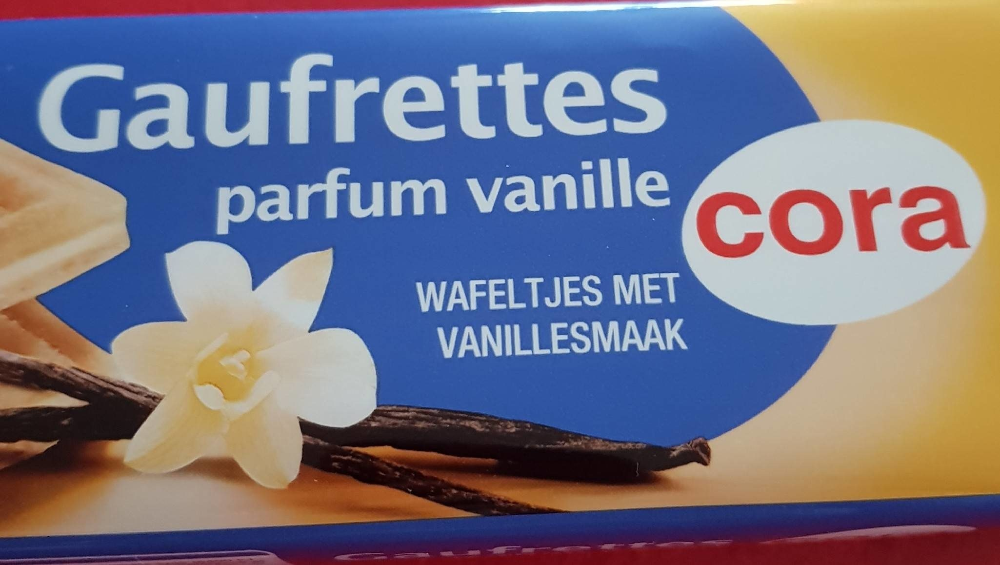 Gaufrette Parfum vanille - Nutrition facts - fr
