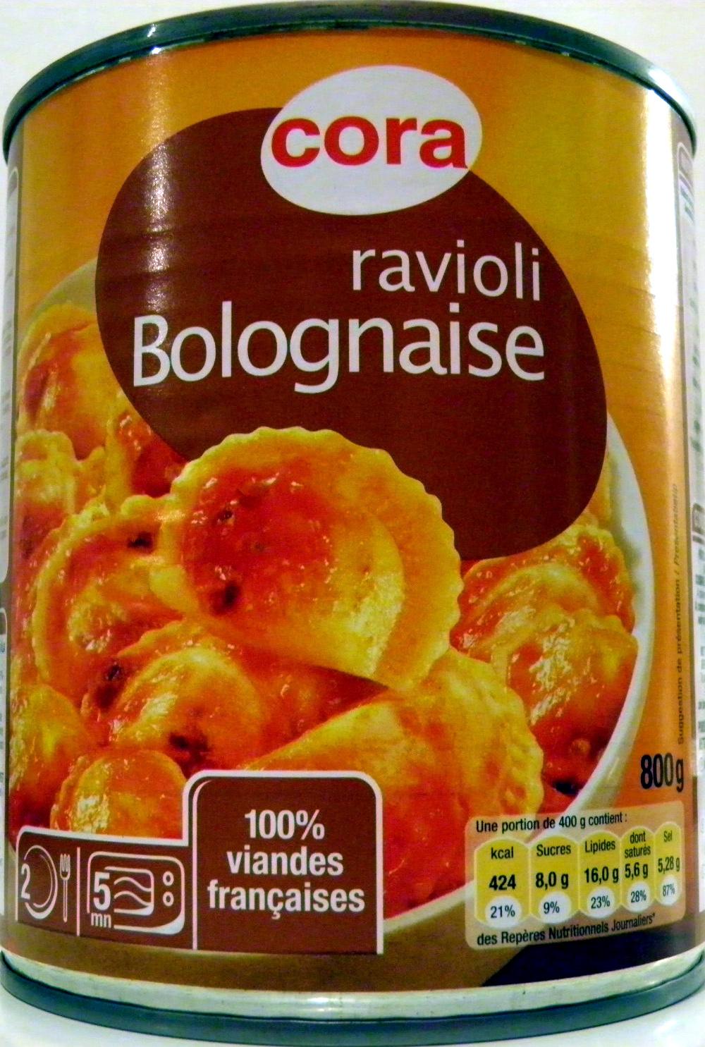 Ravioli Bolognaise - Product