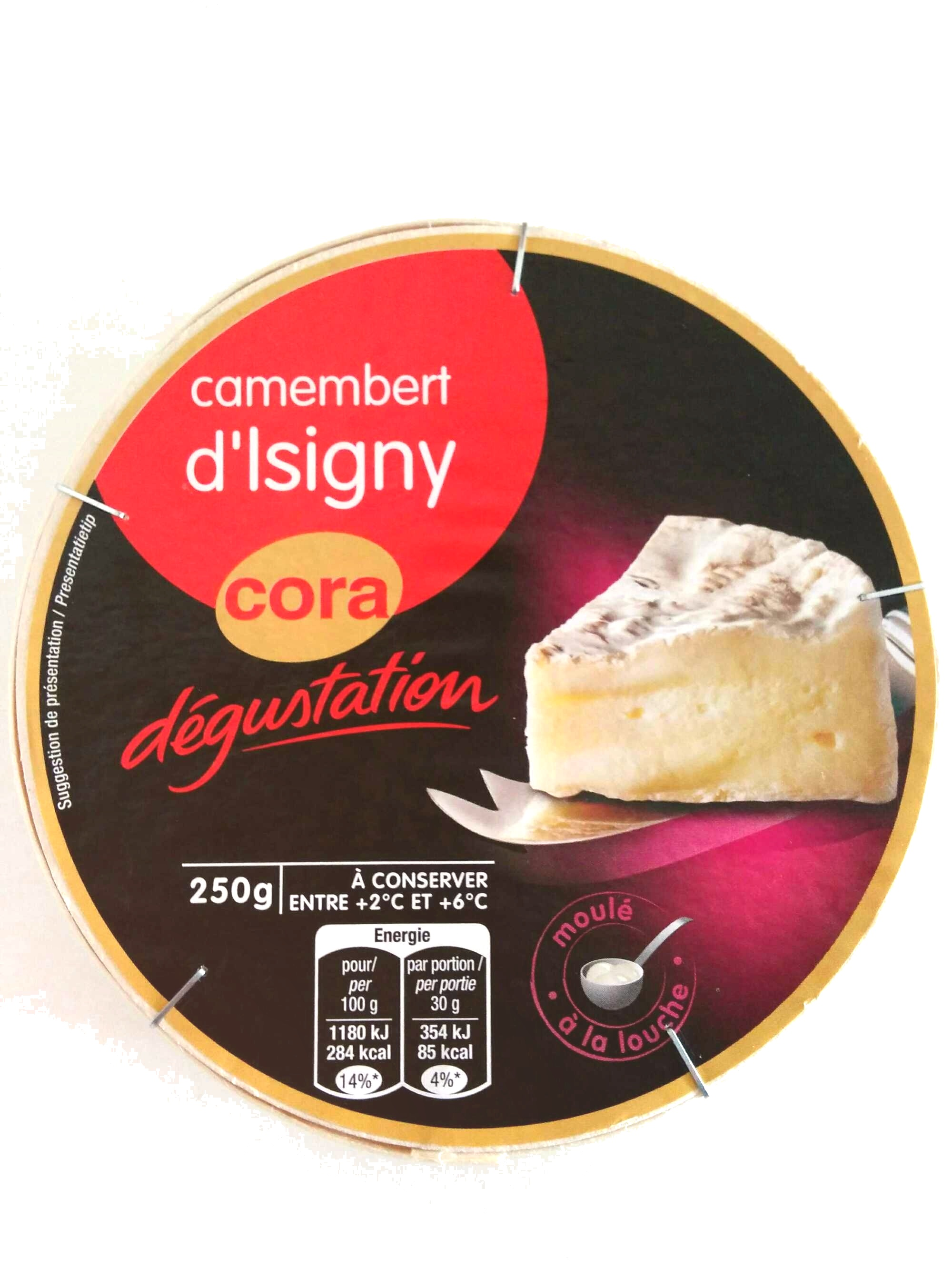 Camembert d'Isigny (22% MG) - Product - fr