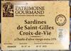 Sardines de Saint-Gilles Croix-de-Vie à l'huile d'olive vierge extra 21% - Produit