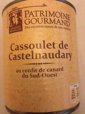 Cassoulet de castelnaudary au confit de canard du sud for Cora cormontreuil adresse