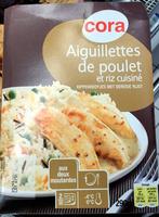 Aiguillettes de poulet aux deux moutardes et riz aux légumes - Product