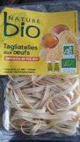 Tagliatelle Aux Oeufs Nature Bio 250 Grammes - Product