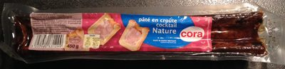 Pâté en croûte cocktail Nature - Product - fr