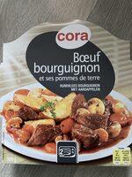 Bœuf Bourguignon Pommes De Terre, 300 Grammes, Marque Cora - Product - fr
