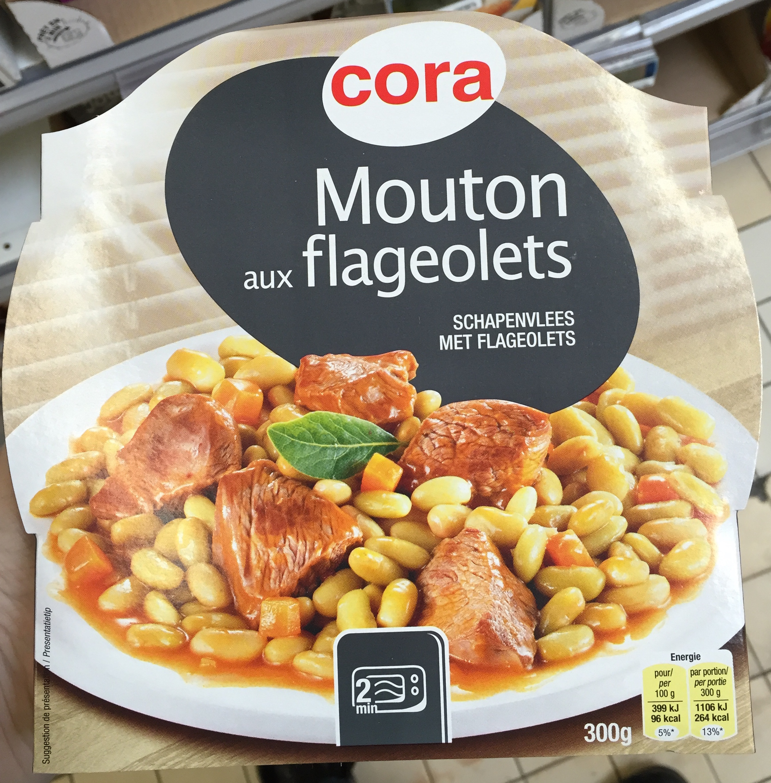 Mouton aux flageolets cora 300 g for Produit cuisine
