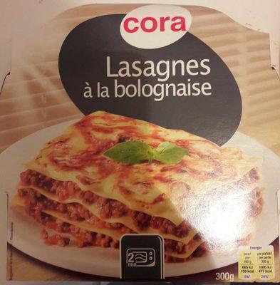 lasagnes la bolognaise cora 300 g. Black Bedroom Furniture Sets. Home Design Ideas