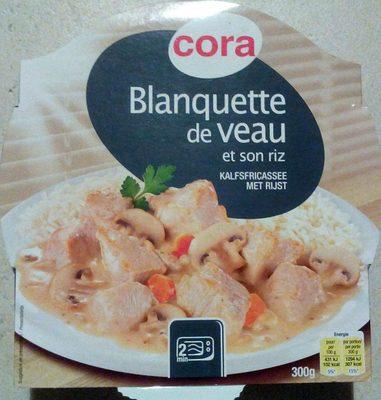 Blanquette de veau et son riz - Product - fr