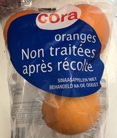 Oranges non traitées après récolte - Product - fr