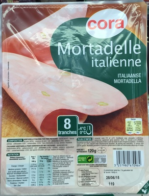 Mortadelle italienne (8 tranches) - Produit - fr