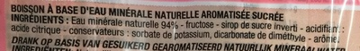 Goût Fraise - Ingredients - fr