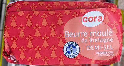 Beurre moulé de Bretagne demi-sel - Product
