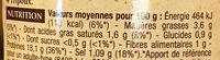 4 Tripoux d'Auvergne - Voedingswaarden - fr
