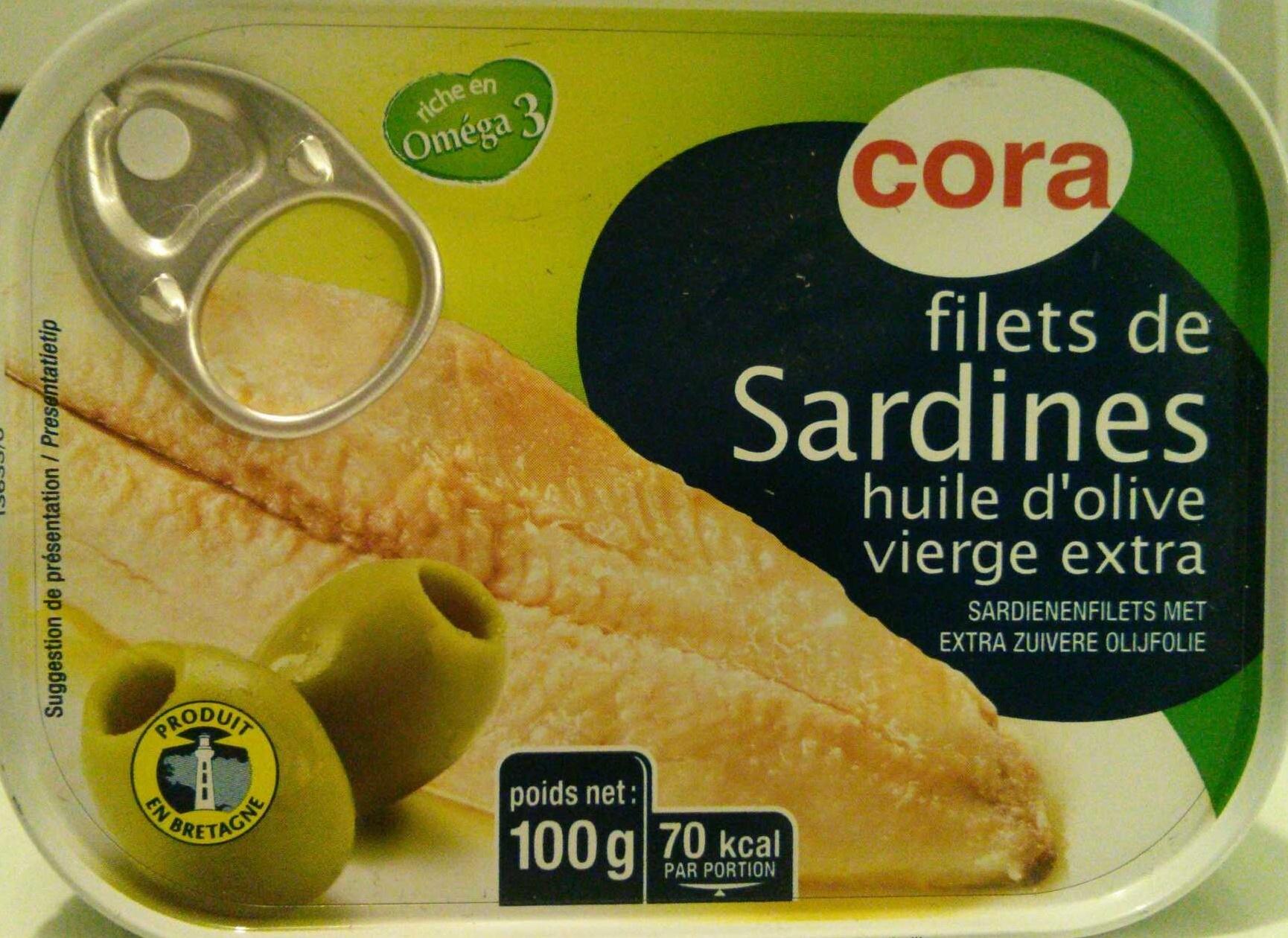 Filet de sardines - Product