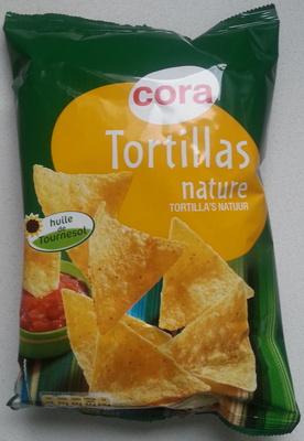 Tortillas nature - Produit