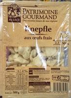 Knepfle aux œufs frais - Produit