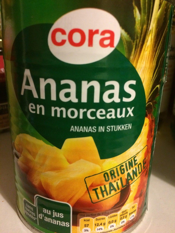 Ananas en Morceaux - Produit