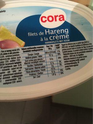 Filets de Harengs à la Crème - Produit - fr