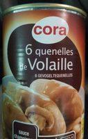 6 quenelles de Volaille - Produit