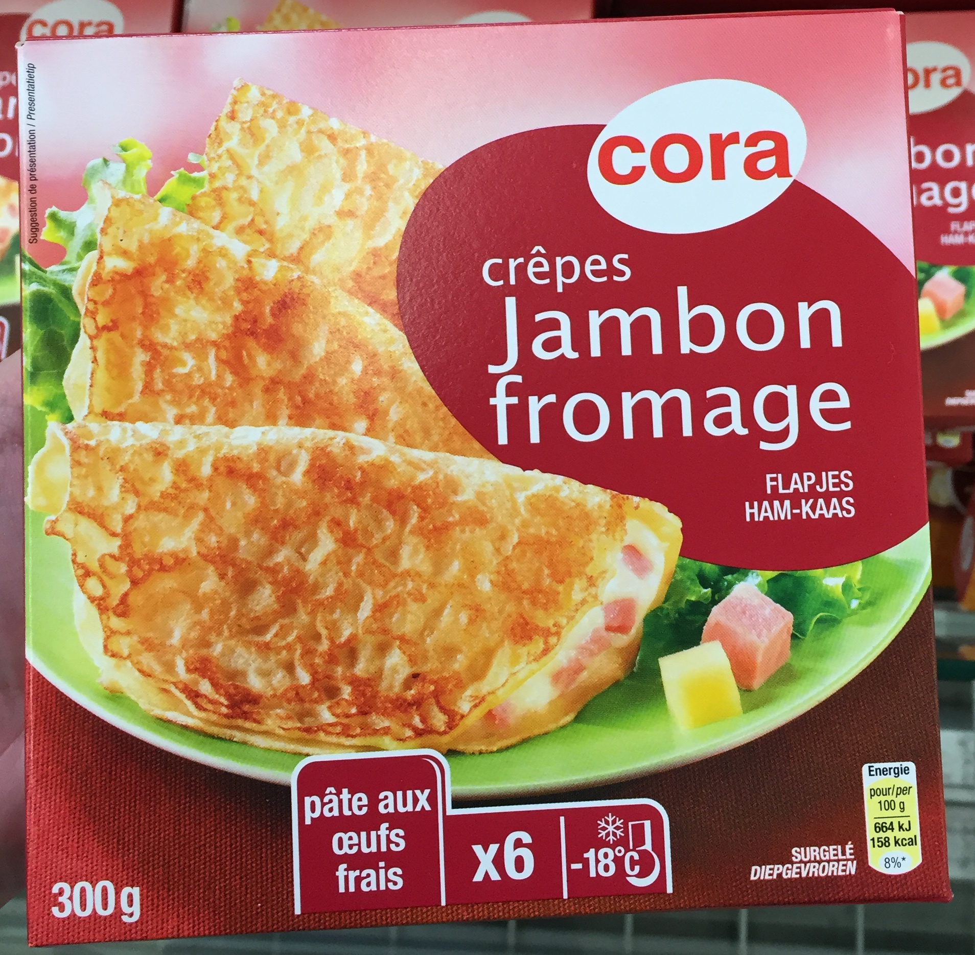 Crêpes Jambon Fromage - Product - fr