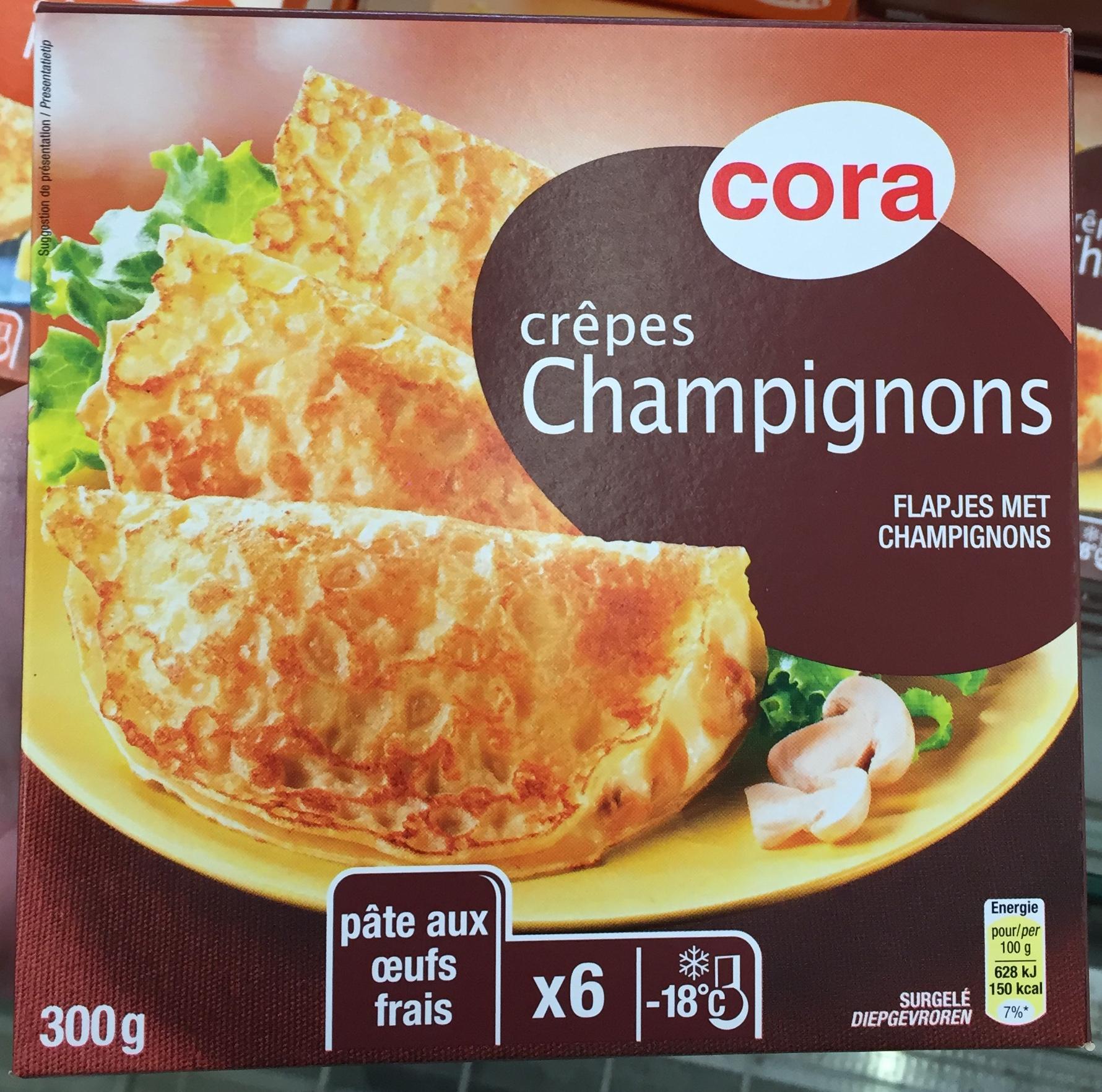 Crêpes Champignons - Product
