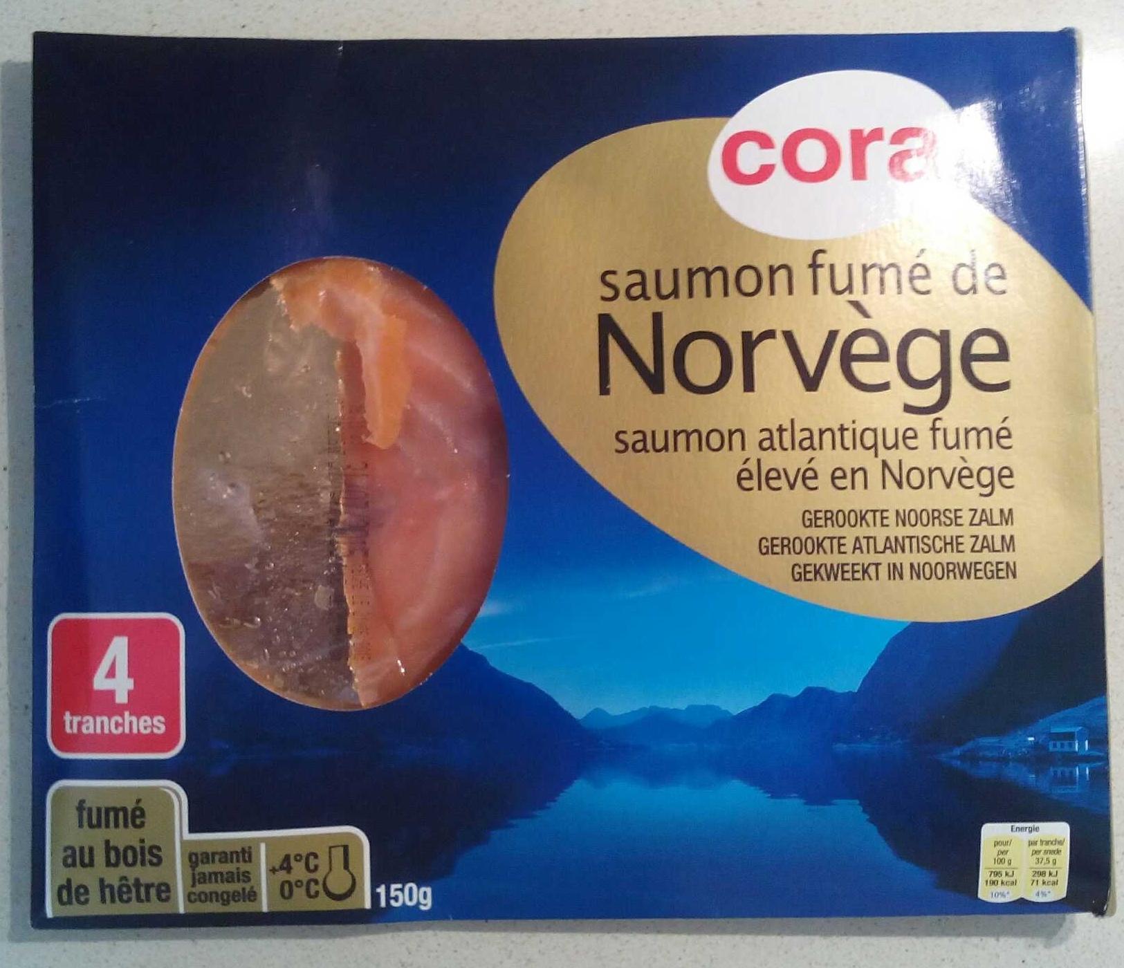 Saumon fumé de Norvège - Produit - fr